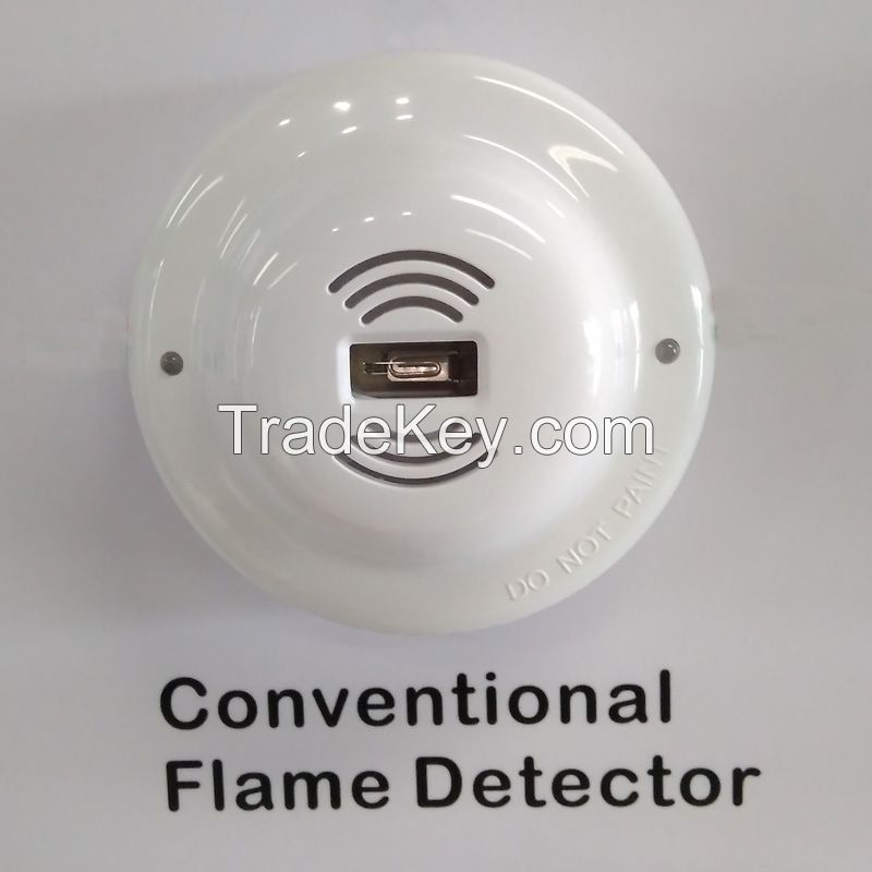 4-wire UV Flame Detector Ultraviolet flame alarm sensor with Relay output