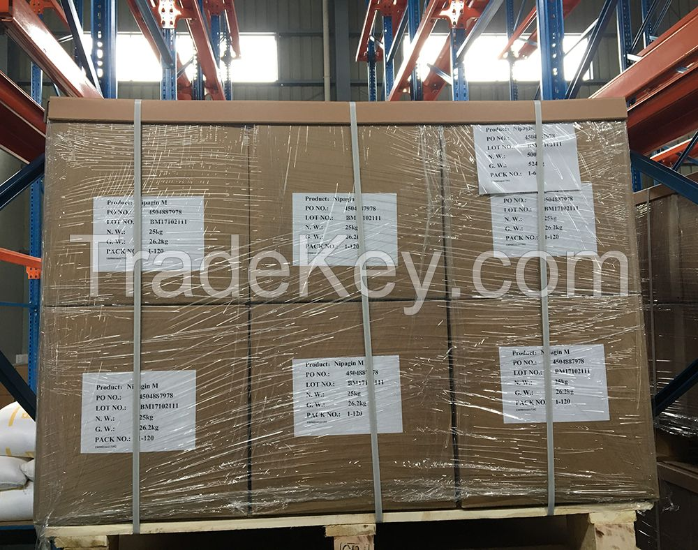 Butyl paraben with CAS No. 94-26-8