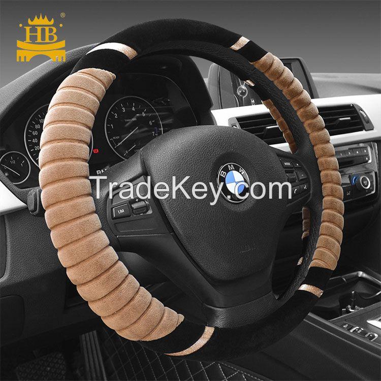 2017 New model winter fur steering wheel cover