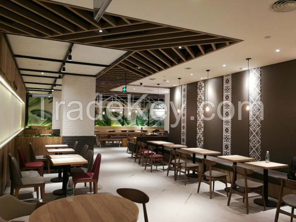 dinning table sets, KFC tables and chairs, KFC Aluminum door