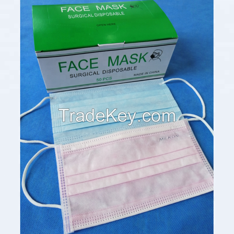 Perfect Disposable Medical Dust Mouth Surgical Face Mask Hot sale products