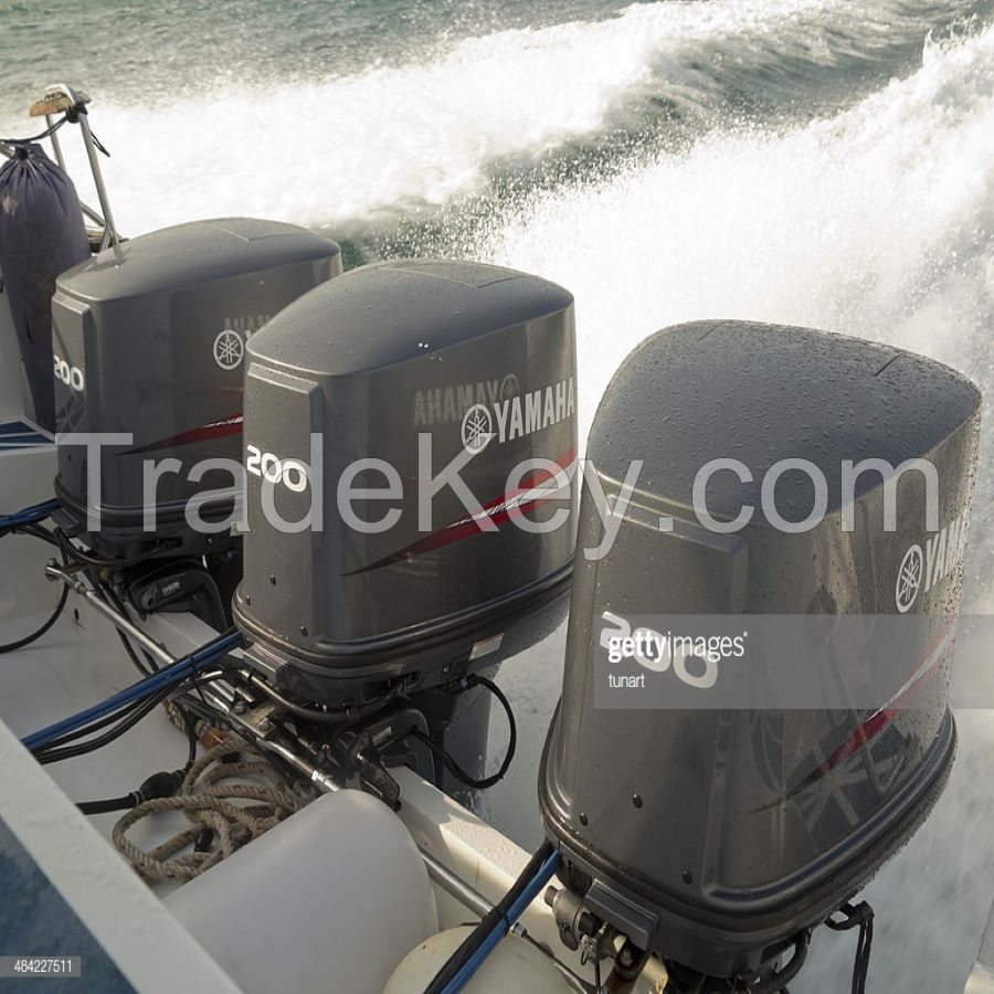 USED outboard  Engines 4 stroke ( 200hp/ 250hp/ 300hp)