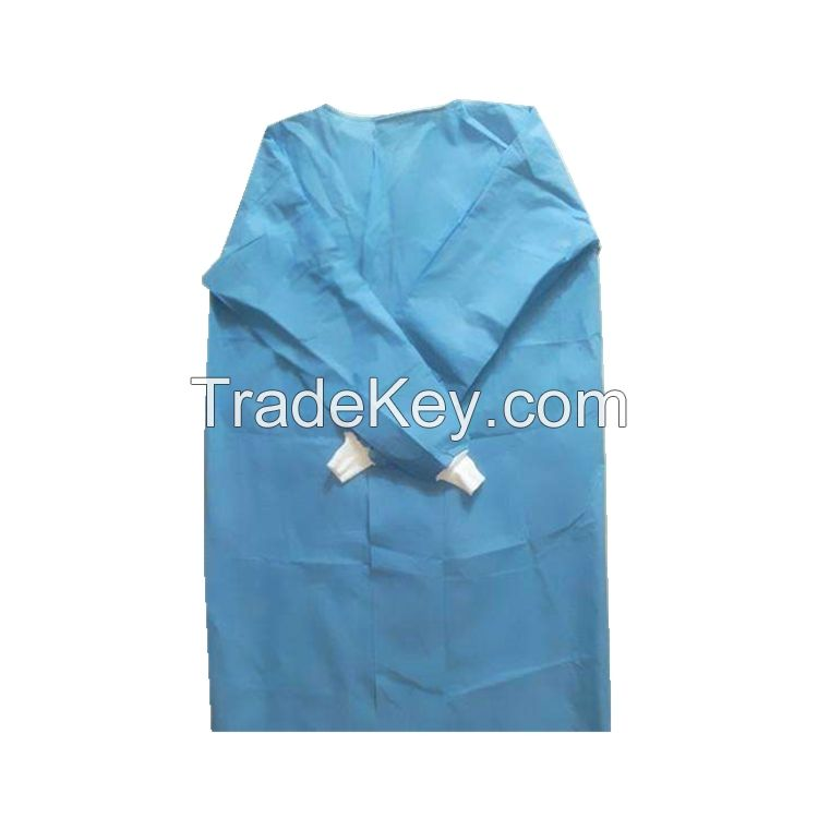 Disposable reinforced surgical gown surgeon gown medical gown