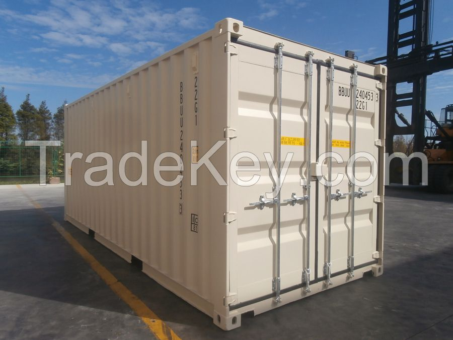 Used Shipping Container 20ft 40ft 40hc Cargo New and Used