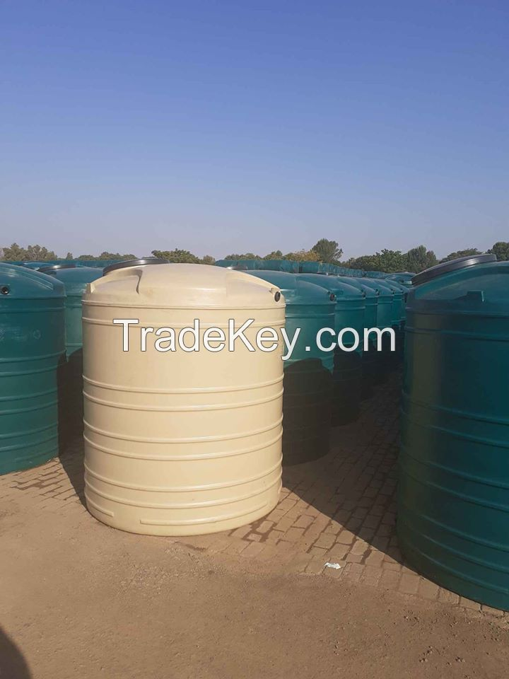 Hot sale LLDPE IBC used plastic water tanks.
