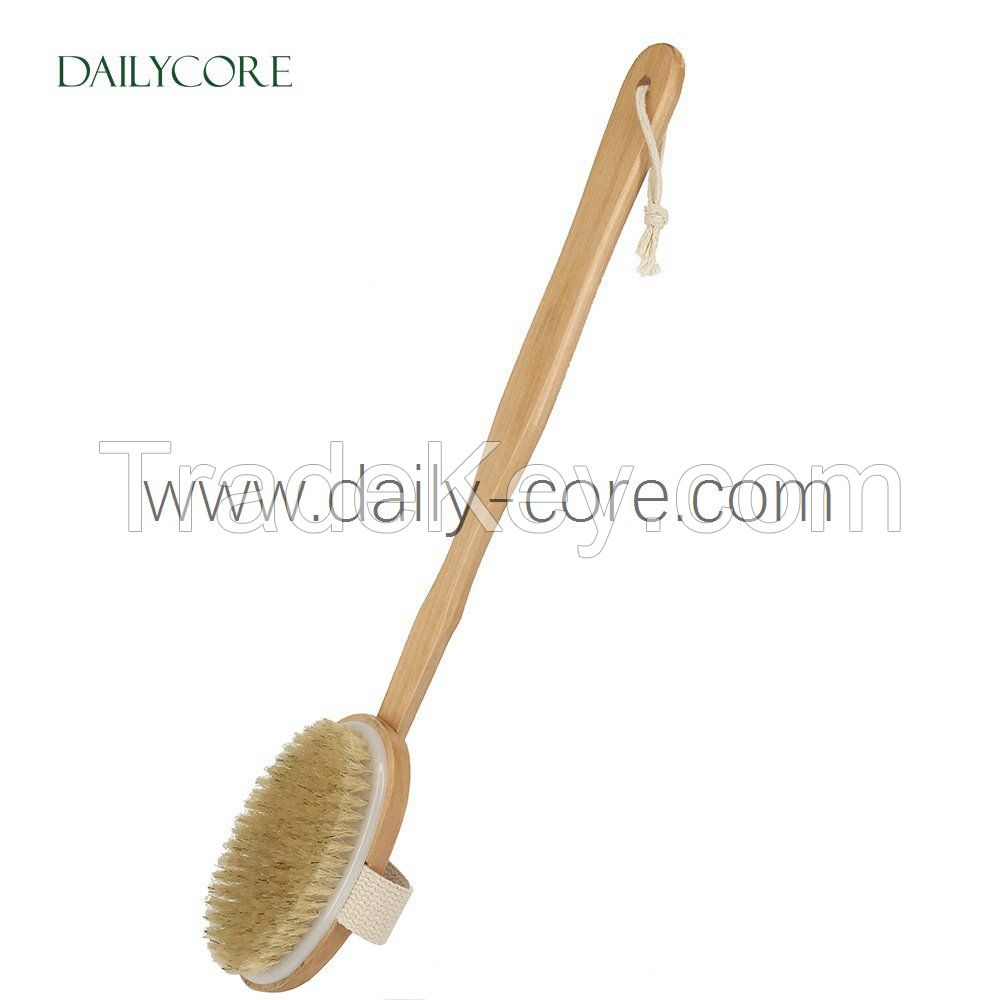 Natural Boar Bristle Body Brush DC-BB001B