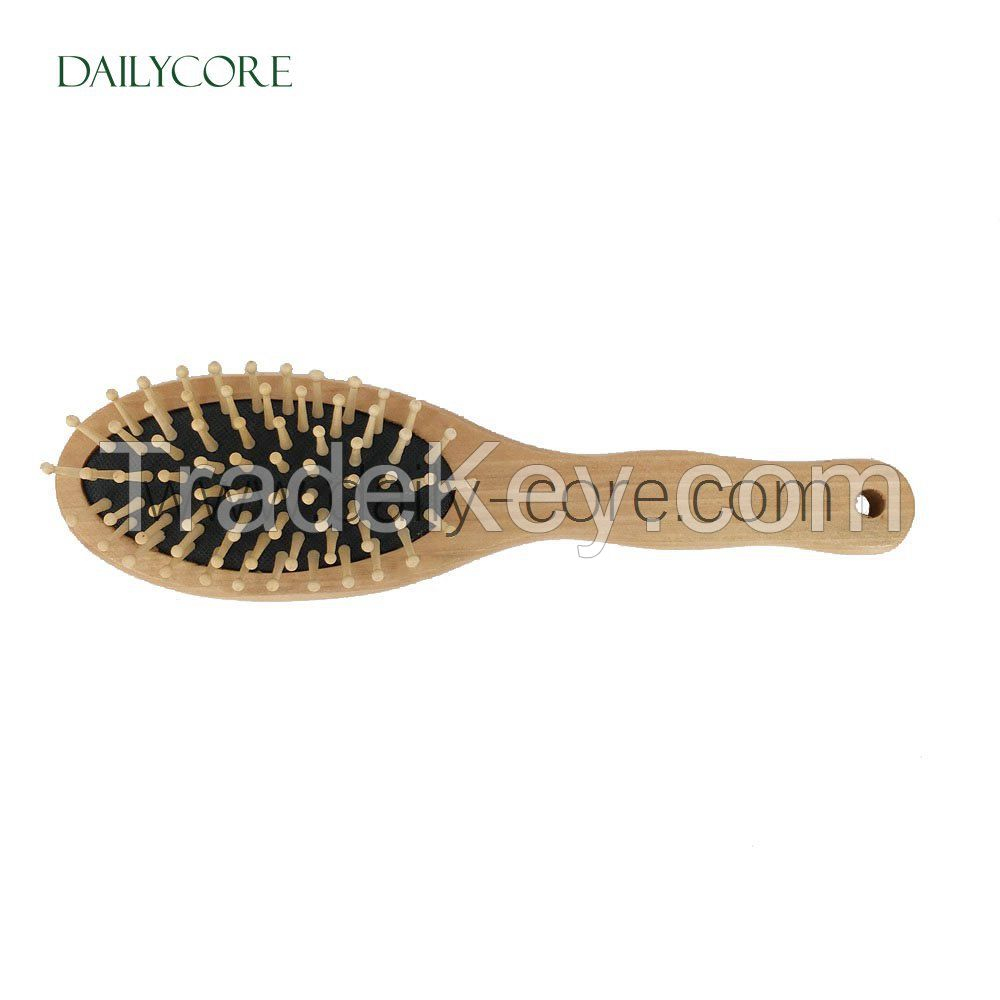 Natural Wooden Massage Hair Brush DC-HB003