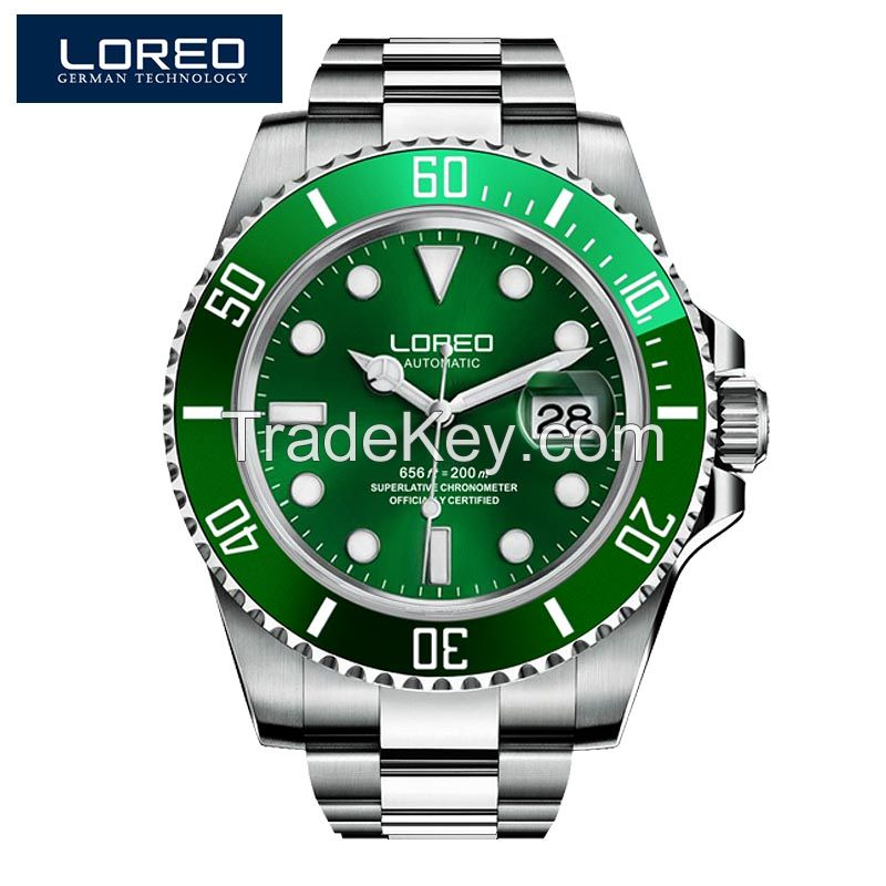 Automatic Mechanical Watch For Man With 5ATM Water Resistance And Lumi