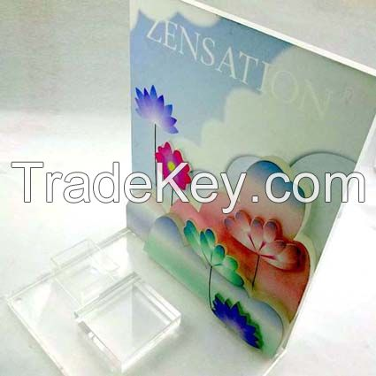 Acrylic Cosmetic Counter Display Stand