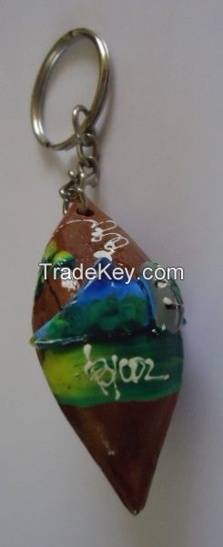 Key Chains, Bracelets, Hand fan, Wooden bowls
