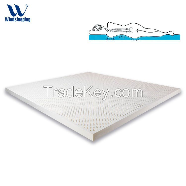 100% natural latex mattress soft high elastic good for body support