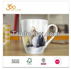Chinese supplier coffe cup ceramic set manufac