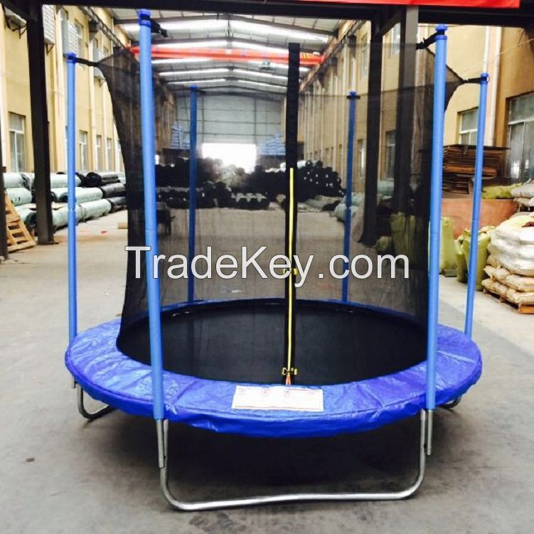 6FT ROUND TRAMPOLINE WITH SAFETY NET