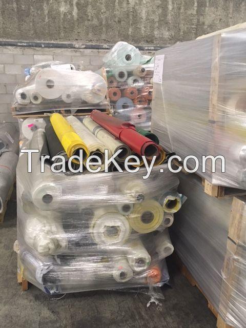 TARPAULIN  TEXTILES PVC VINYL SECONDS CLOSEOUTS