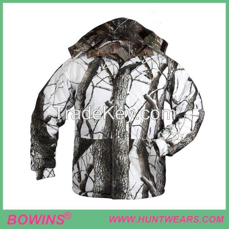 Men's Twill Peach Battery Heated Hunting Jacket