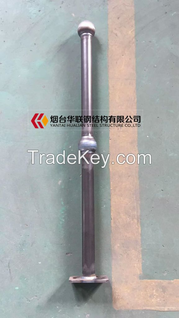 Ball connection handrails