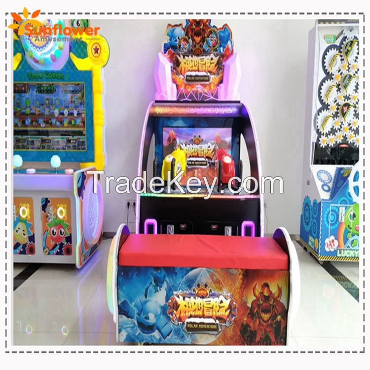 Popular Shooting Game Polar Adventure Redemption Arcade Game Machine Coin Operated Indoor Games