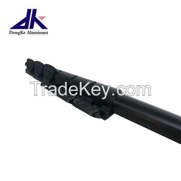 custom aluminum telescopic pole with flip lock