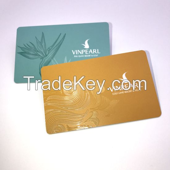 Custom VIP Card Magnetic Barcode Printing Membership Plastic Card