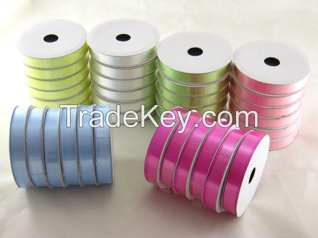 Gift ribbon, PP ribbon, metallic ribbon, Christmas ribbon