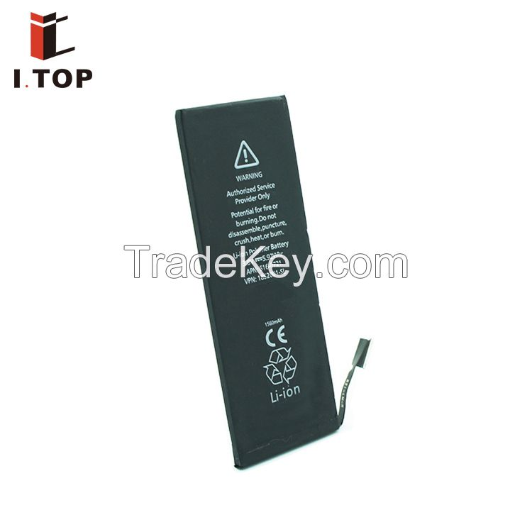 best price with guarantee 1560mah batteries for iphone 5c 5s battery