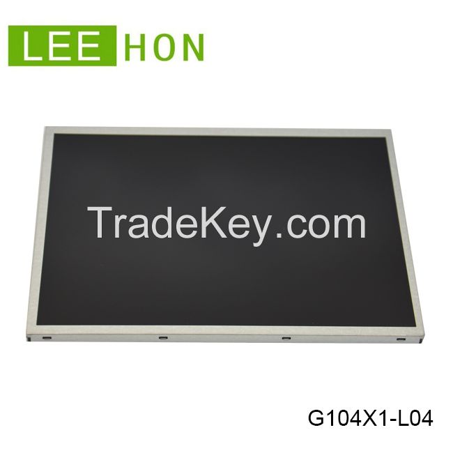 industrial 10.4 inch tft lcd display IPS 500nits with HDMI controller board
