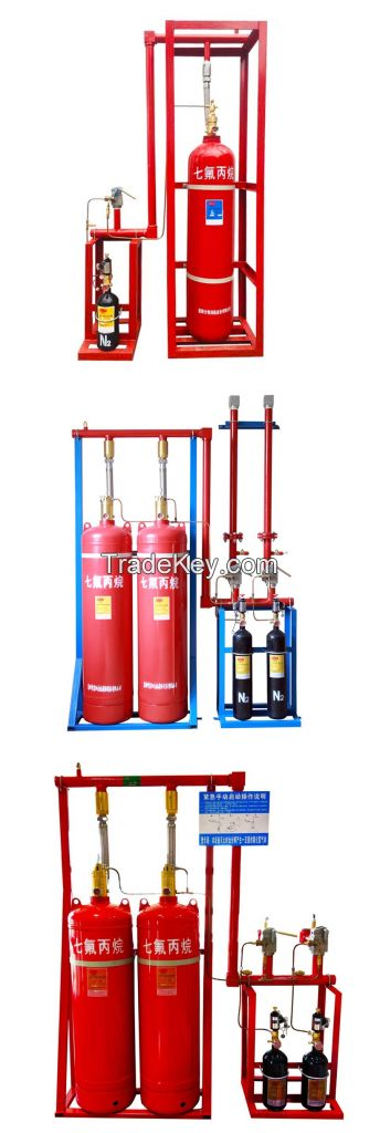 dadi fire factory wholesale 70-180L automatic fm200 fire suppression system
