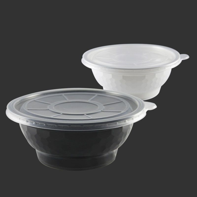 Guanhua Gha-900 Leak Proof Disposable Lunch Bowl Plastic Bowl Party Bowl