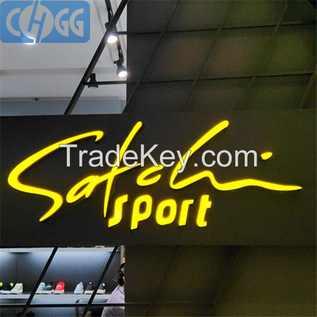 Outdoor 3D high brightness Front Illuminated Acrylic Letter sign