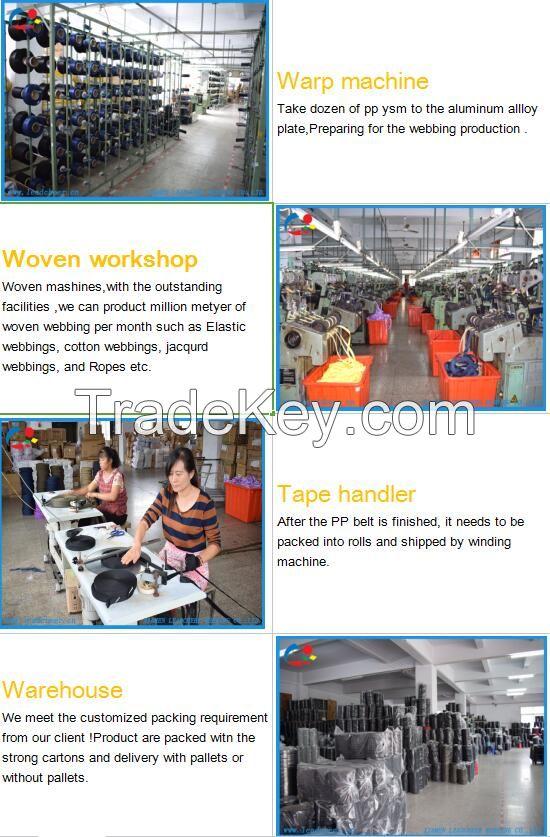 Factory Derect Sale Elastic Men Underwear Accessories Jacquard Webbing