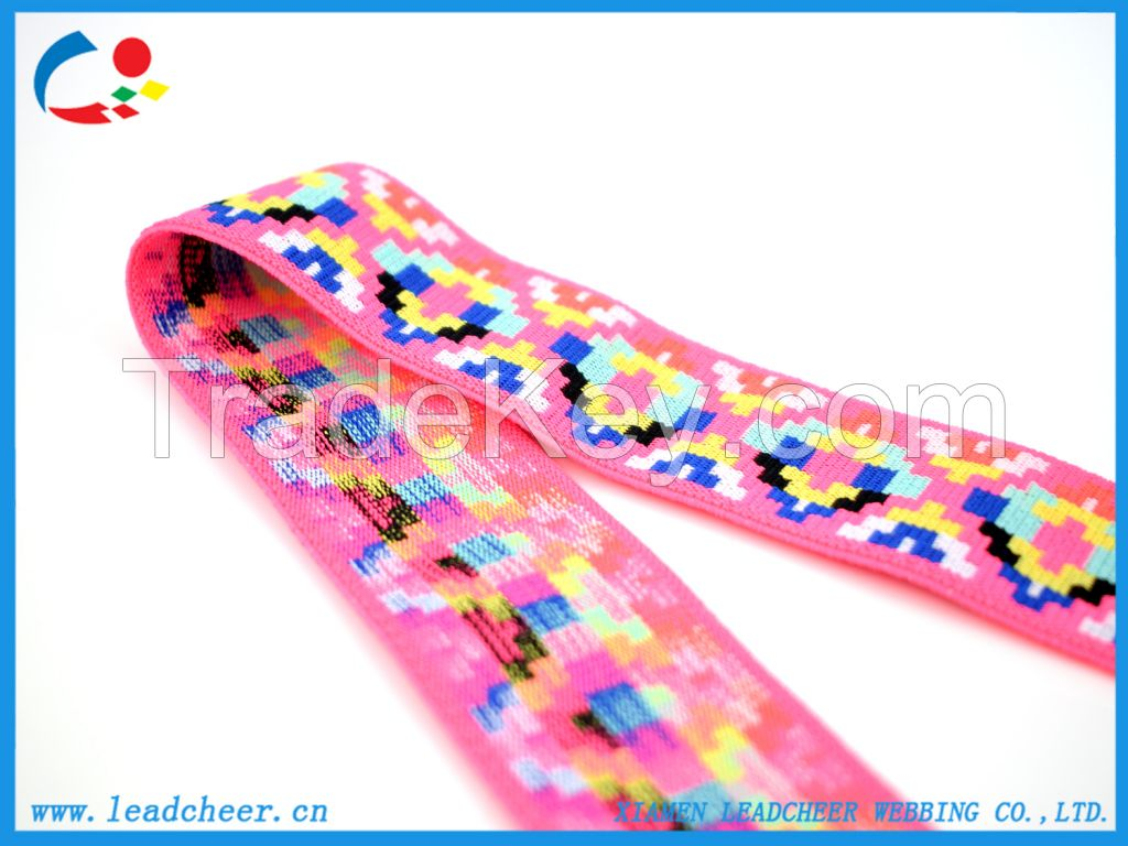 Factory Direct Sell Polyester Elastic Band for Bags and Garments
