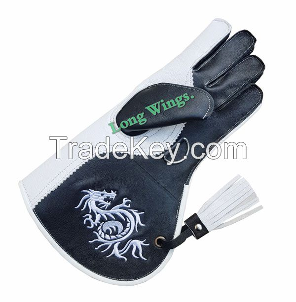 Falconry Leather Gloves