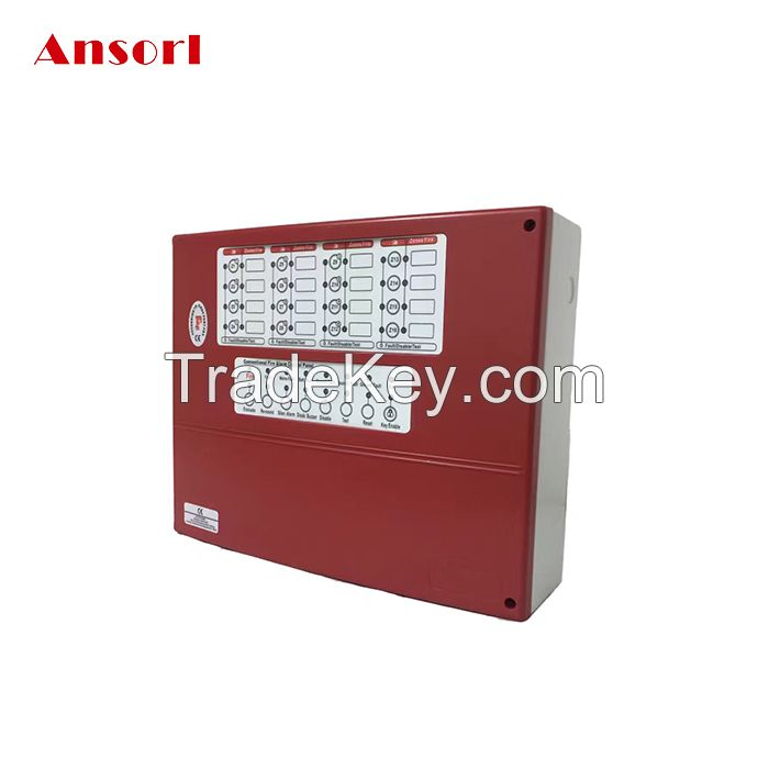 4 Zone Conventional Fire Alarm Control Panel