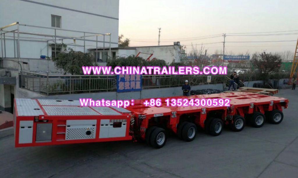 Multi Axle hydraulic semi-trailers | Nicolas MDED | Modular Trailer| Lowbed