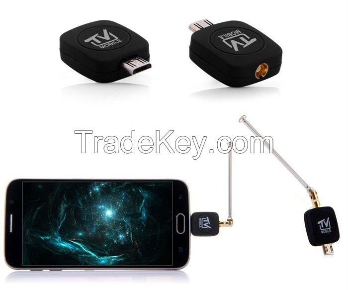 android mobile phone antennaDVB-T ISDB-T Mobile Phone TV Tuner Receiver TV Stick For Android Smart Phone Tablet
