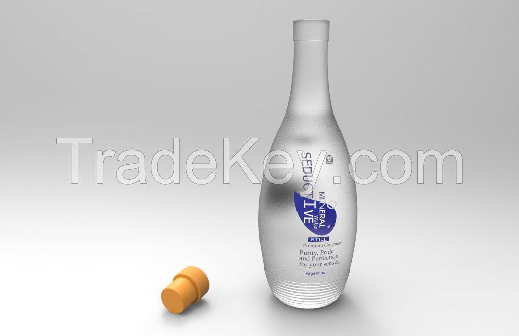 Exotic FDA Premium Mineral Sweet Ionized Seductive Water Kosher Halal