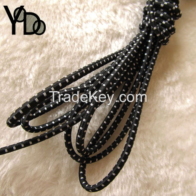 Factory outlets textile accessories High Tenacity 3mm elastic rope latex rubber string