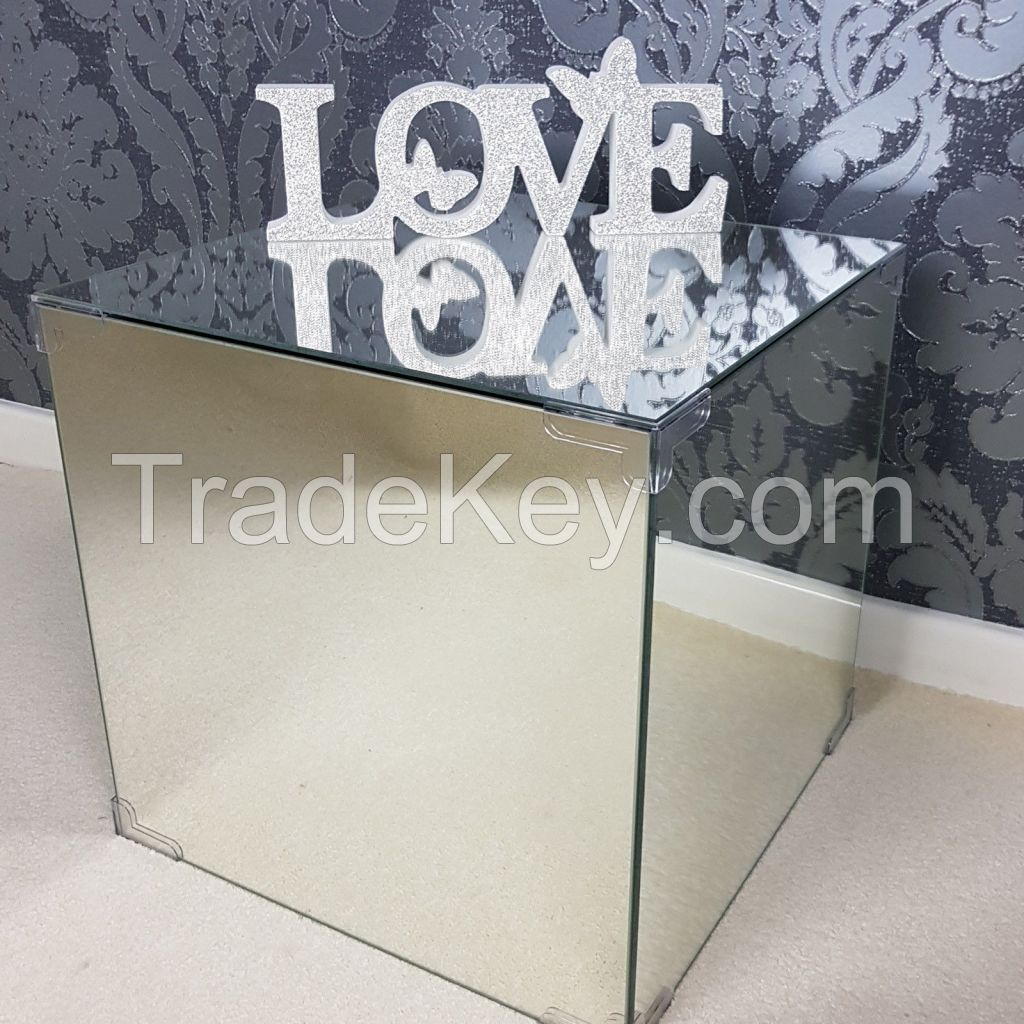 Bedside Tables Glass Mirror Side Table Coffee Tables Mirrored Furniture