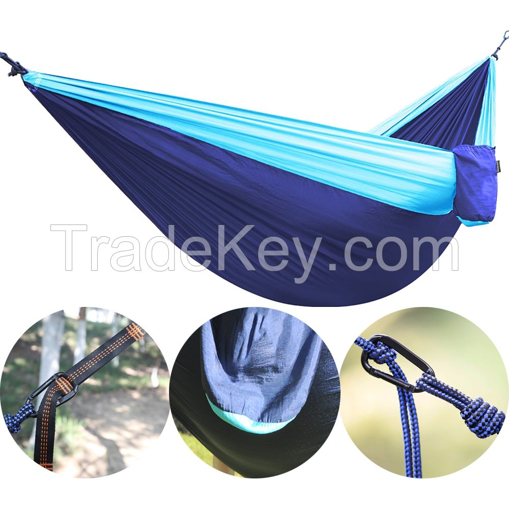 Outdoor Camping Nylon Hammock Lightweight Durable Hammock