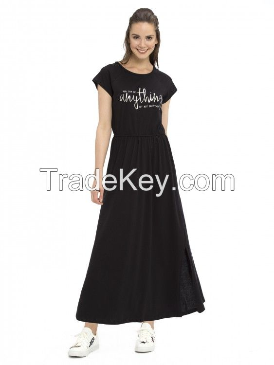 LC WAIKIKI Dress NEW BLACK