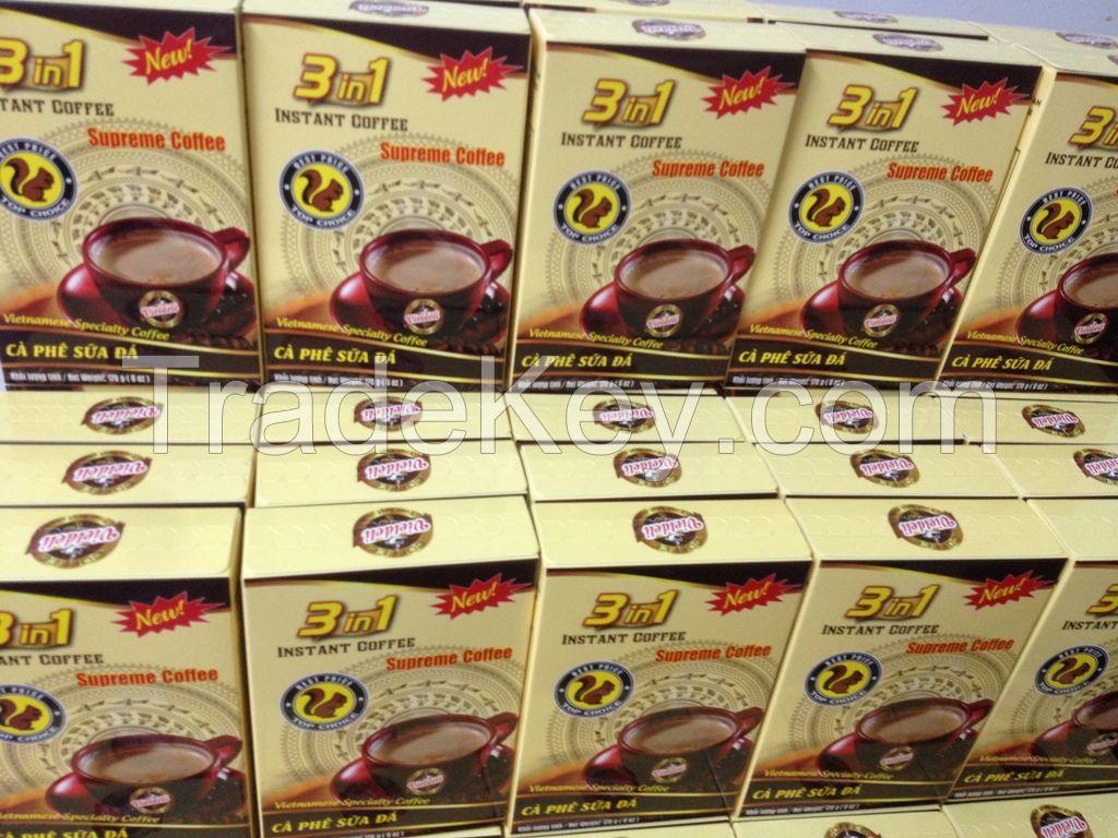 Sell INSTANT COFFEE 3 in 1 - 17g/stick - Viet Deli Coffee Co., Ltd