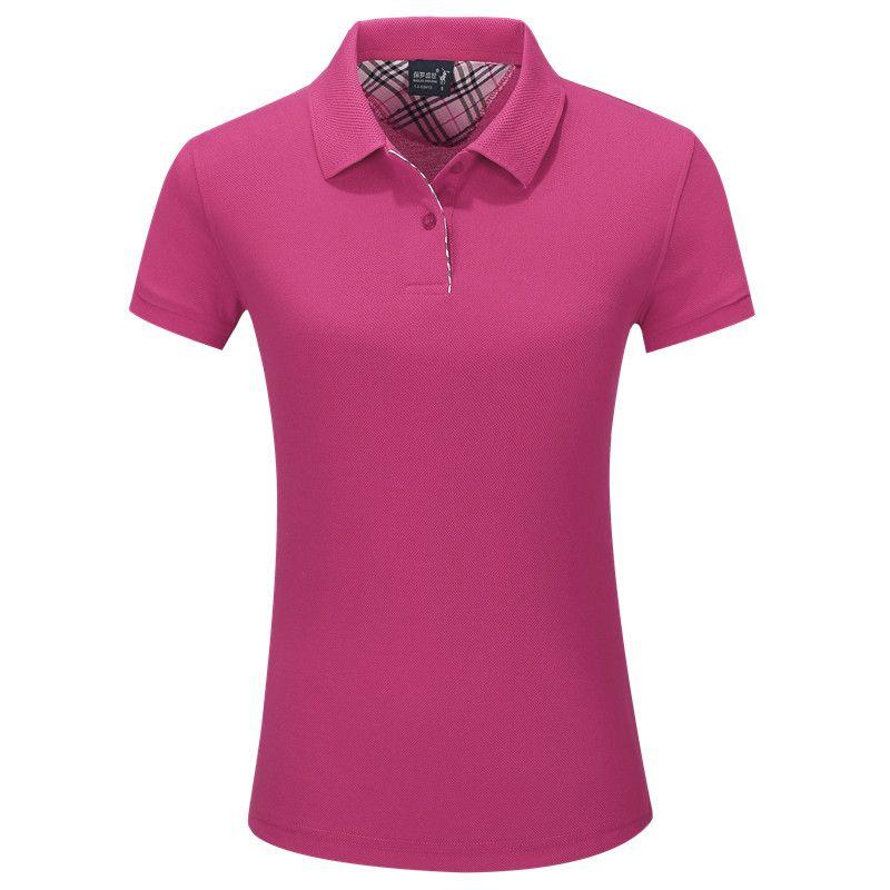 Wholesale cotton short sleeve mens and womens blank custom logo polo shirt business shirt