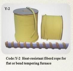 Kevlar rope for flat glass tempering furnace