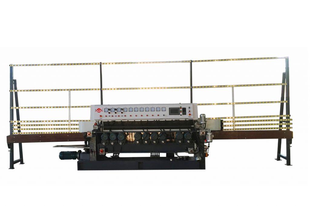 Glass beveling machine, Straight line beveling machine YD-BM-10 PLC