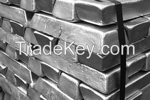 Pure Cheap Aluminium Ingots 99.7%
