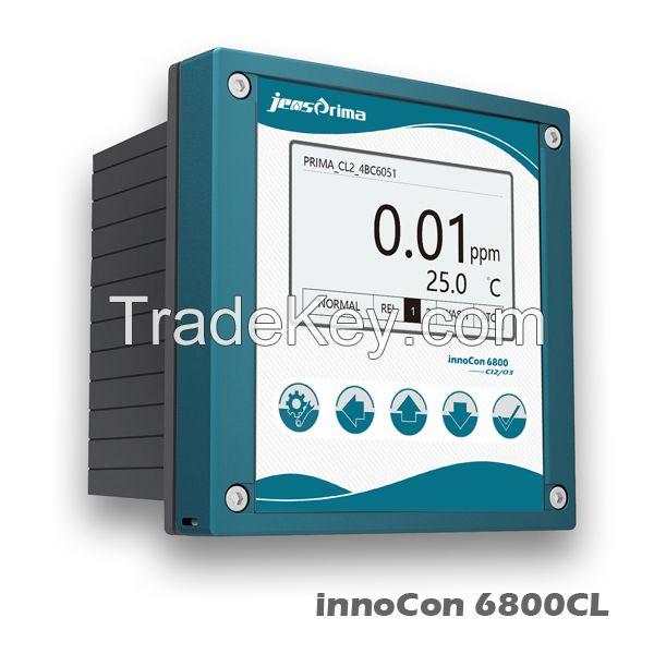 Free Chlorine/Chlorine Dioxide/ Ozone Controller innoCon6800CL