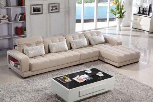 Modern L Shape Leather Sofa