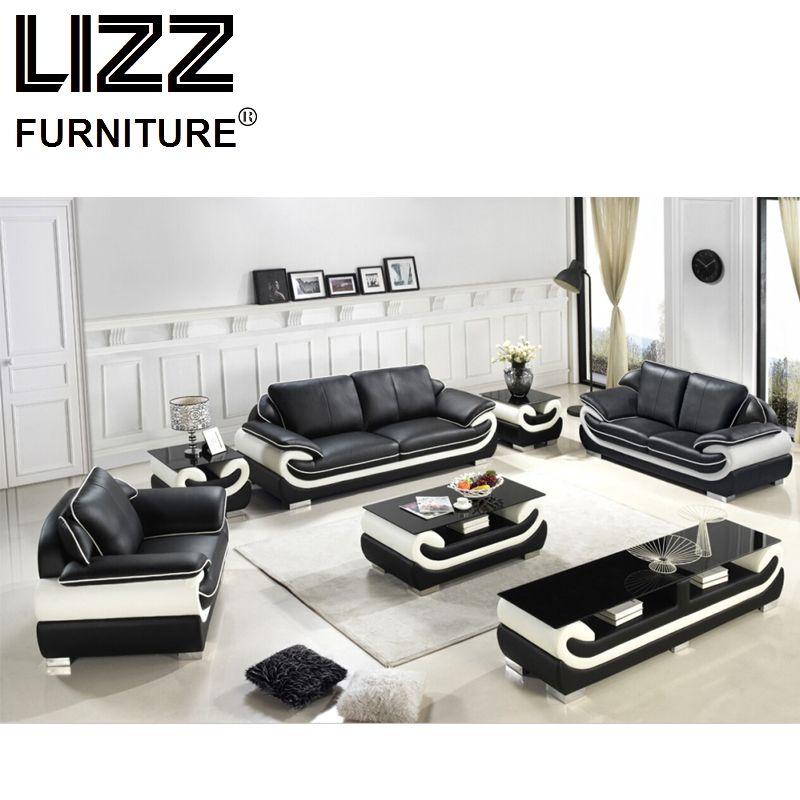 Miami Furniture Leisure Leather Sofa sets