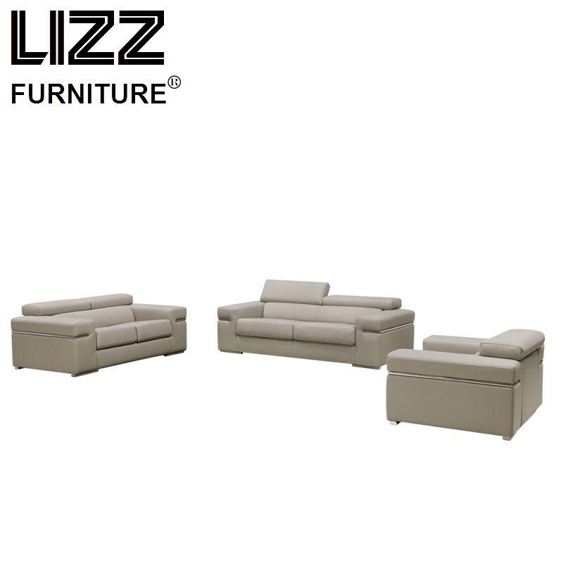 White Loveseat Modern Home Furniture 1+2+3 Leather Sofa