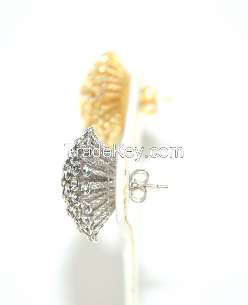Gold Earrings-Certified MADE IN ITALY !!